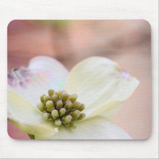 Dogwood Blossom Mouse Mat