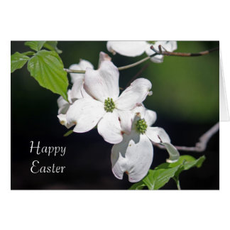 Dogwood Blossoms Easter Card