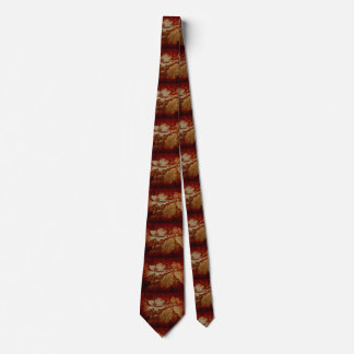 Dogwood flower and leaves in Autumn colors tie