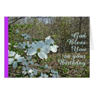 Dogwood Inspirational-customize Card