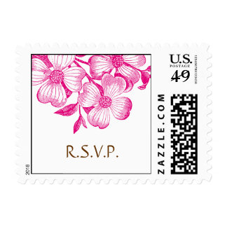 Dogwood RSVP Postage Stamp