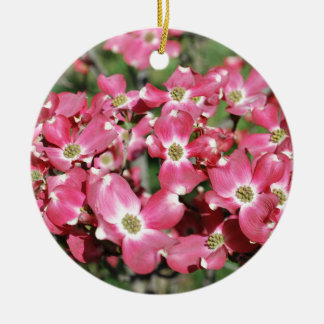 Dogwood Tree in Bloom Christmas Ornament