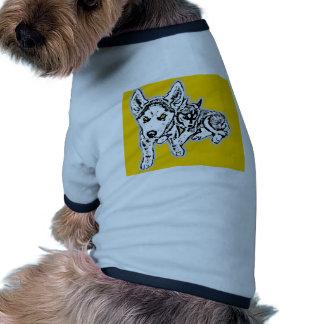 Dogwwod Puppies Pet Tshirt