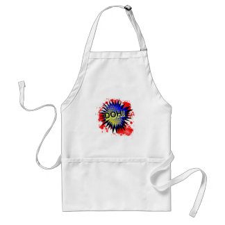 Doh Comic Exclamation Standard Apron