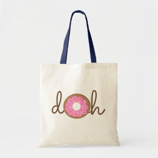 Doh Donut Budget Tote Bag