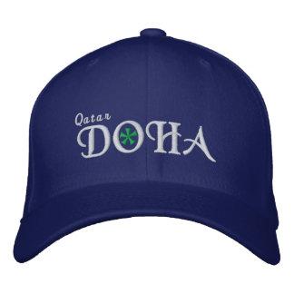 Doha City - Qatar Embroidered Baseball Cap