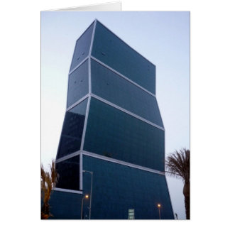 doha zig zag greeting card