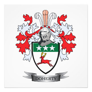 Doherty Coat of Arms Photographic Print
