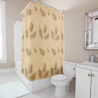 doho feathers shower curtain