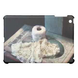 Doily and Crochet Thread Cover For The iPad Mini