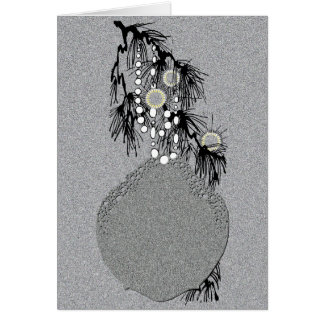 Doily Ornament 1 Card