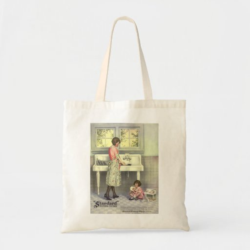 Doing Dishes Canvas Bag