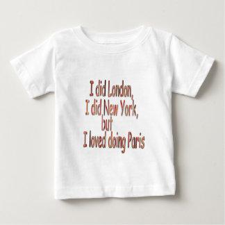 Doing Paris-(White) T-shirt