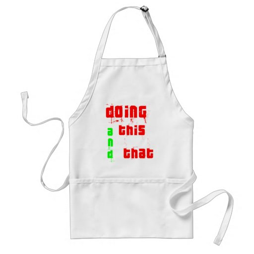 Doing This and That... Aprons