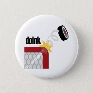 Doink Hockey 6 Cm Round Badge