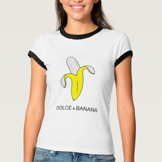 dolce and banana funny humour t-shirt