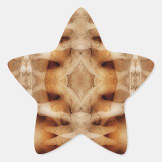 Dolerite symmetry star sticker