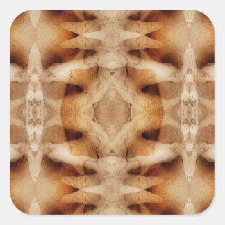 Dolerite symmetry square sticker