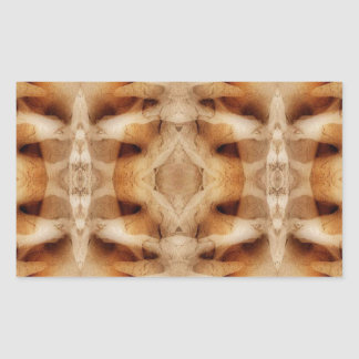 Dolerite symmetry rectangular stickers