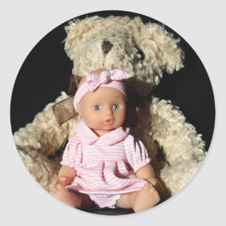 Doll and Teddy Bear Stickers