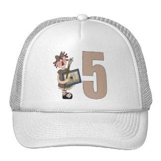 Doll Artist 5th Birthday Gifts Cap
