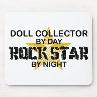 Doll Collector Rock Star by Night Mouse Mat