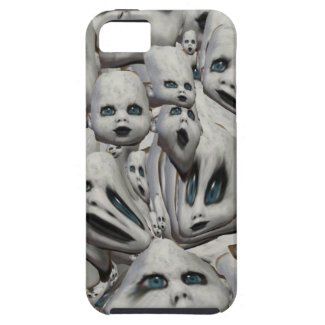 doll face haunted doll scary phone case