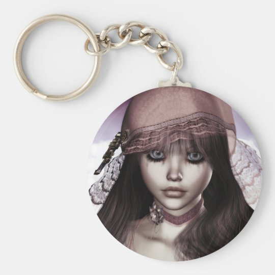 Doll Face Key Chain