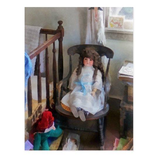 Doll in Nursery Postcard