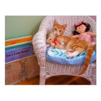 doll kitty Cole Postcard