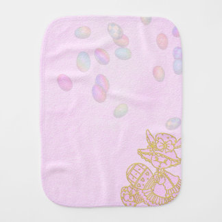 Doll Pink Burp Cloth