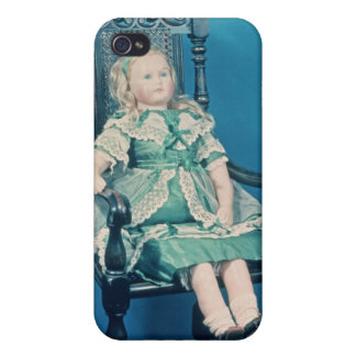 Doll, probably made by Charles Marsh, 1865 iPhone 4/4S Cover