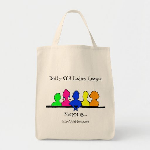 DOLL Shopping Grocery Tote Bag
