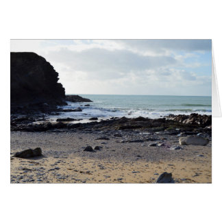 Dollar Cove Cornwall England Poldark Location Card