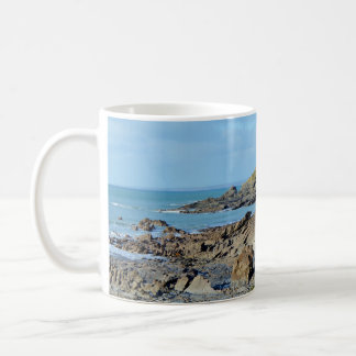 Dollar Cove Cornwall England Poldark Location Coffee Mug
