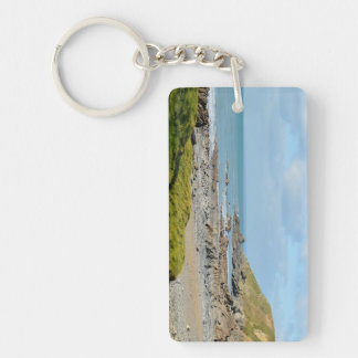 Dollar Cove Cornwall England Poldark Location Key Ring