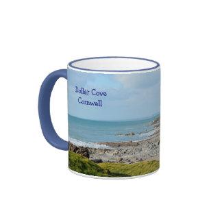 Dollar Cove Cornwall England Poldark Location Ringer Mug