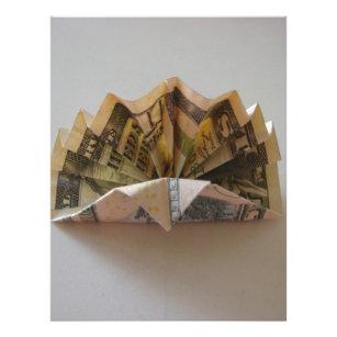 25 Money Origami Tutorials | 3D Dollar Bill Crafts | 307x307