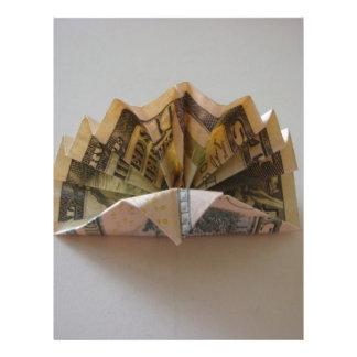 Dollar Origami Turkey Flyer