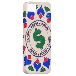 Dollar Sign Poker Chip Case For The iPhone 5