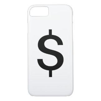 Dollar Sign | Simple Modern Alphabet iPhone 8/7 Case