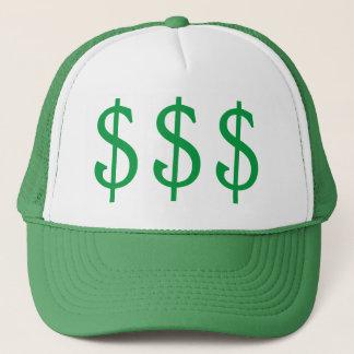 $$$ Dollar Signs Money on My Mind Trucker Hat