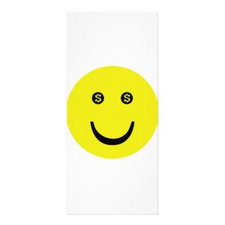 dollar smile icon rack cards