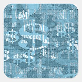 Dollar Square Sticker