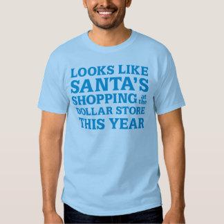 Dollar Store Santa T-shirt
