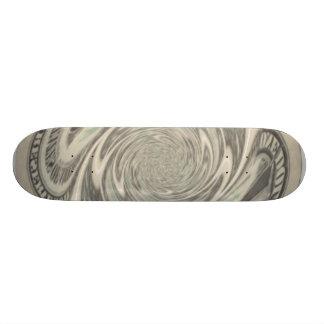 Dollar Swirl Skate Board Decks