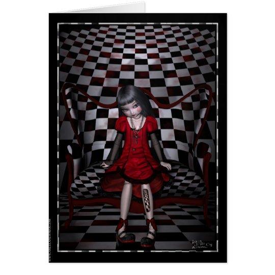 Dollhouse Series Blank Note Card