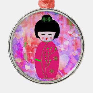 Dolls Christmas Ornament