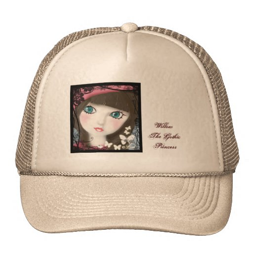 Doll's Eyes Cute Brown Trucker Hat