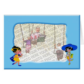 Dolls frame Greeting Card